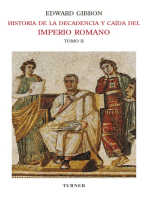 Historia de la decadencia y caída del Imperio Romano. Tomo II