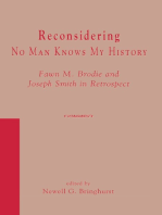 Reconsidering No Man Knows My History
