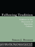 Following Tradition