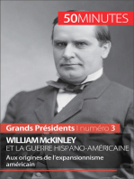 William McKinley et la guerre hispano-américaine