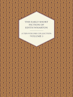 The Early Short Fiction of Edith Wharton - A Ten-Volume Collection - Volume 1
