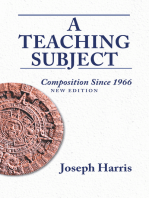 Teaching Subject, A
