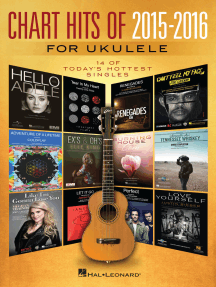 Chart Hits of 2015-2016 for Ukulele: 14 of Today's Hottest Singles