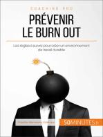 Prévenir le burn out