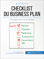 Checklist du business plan