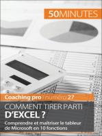 Comment tirer parti d'Excel ?