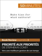 Priorité aux priorités de Stephen R. Covey (Book review)