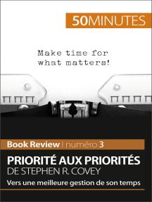 Priorité aux priorités de Stephen R. Covey (Book review): Vers une meilleure gestion de son temps