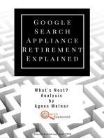 Google Search Appliance Retirement Explained