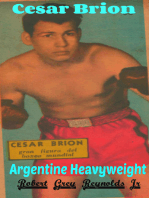 Cesar Brion Argentine Heavyweight Boxer