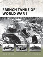 French Tanks of World War I