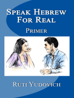 Speak Hebrew For Real Primer
