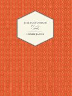 The Bostonians Vol. II. (1886)