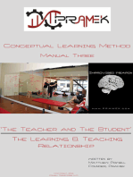 CLM Manual 3: The Teacher and the Student