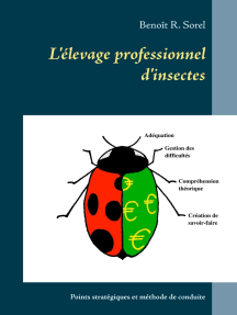 L'élevage professionnel d'insectes: Points stratégiques et méthode de conduite