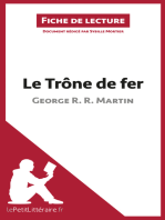 Le Trône de fer de George R. R. Martin (Fiche de lecture)