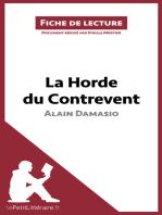 La Horde du Contrevent d'Alain Damasio (Fiche de lecture)