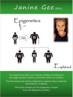 Epigenetics explained