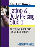 Start & Run a Tattoo and Body Piercing Studio