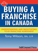 Buying a Franchise in Canada