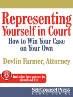 Representing Yourself In Court (US)