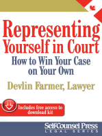 Representing Yourself In Court (CAN)