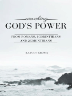 Unveiling God's Power From Romans, 1Corinthians and 2Corinthians