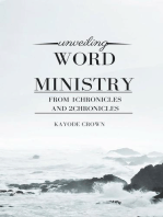 Unveiling Word Ministry From 1Chronicles and 2Chronicles