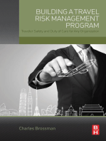Building a Travel Risk Management Program