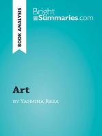 Art by Yasmina Reza (Book Analysis)