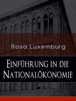 Einführung in die Nationalökonomie