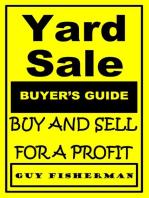Yard Sale Buyer's Guide