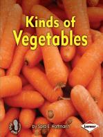 Kinds of Vegetables