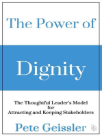 The Power of Dignity - The Thoughtful Leader's Model for Sustainable Competitive Advantage