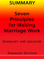 Seven Principles For Making Marriage Work | Summary