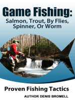 Game Fishing Salmon,Trout,,By Flies, Spinner, Or Worm