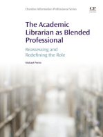 The Academic Librarian as Blended Professional