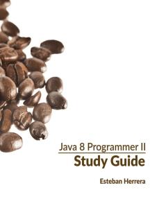 Java 8 Programmer II Study Guide: Exam 1Z0-809
