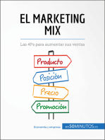 El marketing mix: Las 4Ps para aumentar sus ventas