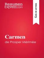 Carmen de Prosper Mérimée (Guía de lectura)