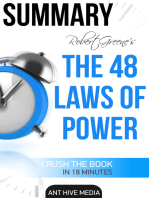 Robert Greene's The 48 Laws of Power Summary