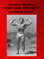 Gaining Muscle Size and Density