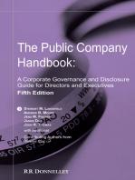 The Public Company Handbook