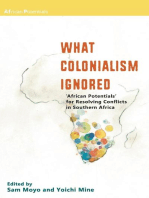 What Colonialism Ignored