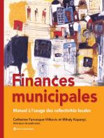 Finances municipales: Manuel à l'usage des collectivités locales