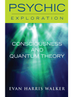 Consciousess and Quantum Theory