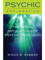 The Social Implications of Psychic Research