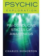 Psi-Conducive States of Awareness