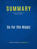 Go for the Magic (Review and Analysis of Williams' Book)