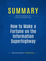 How to Make a Fortune on the Information Superhighway (Review and Analysis of Canter and Siegel's Book)